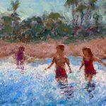 Kids at Shore